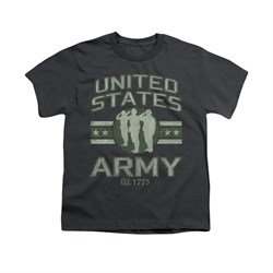 Image of Army Shirt Kids U.S. Army Charcoal T-Shirt