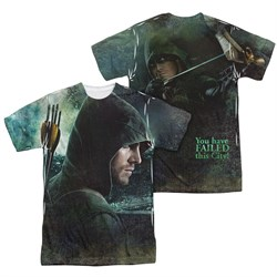 Image of Arrow Shirt Hero Sublimation Shirt Front/Back Print
