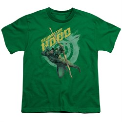 Image of Arrow Shirt Kids Beware Kelly Green T-Shirt