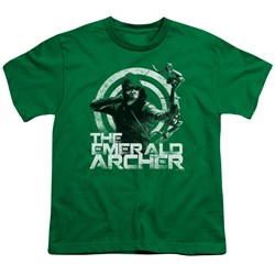Image of Arrow Shirt Kids Emerald Archer Kelly Green T-Shirt