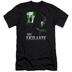Image of Arrow Shirt Slim Fit The Vigilante Black T-Shirt