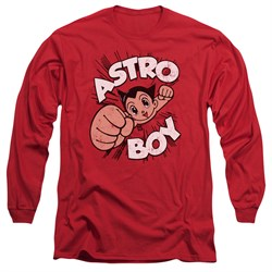 Astro Boy Long Sleeve Shirt Flying Red Tee T-Shirt thumbnail