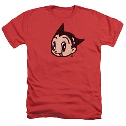 Astro Boy Shirt Face Heather Red T-Shirt thumbnail