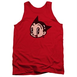 Image of Astro Boy Tank Top Face Red Tanktop
