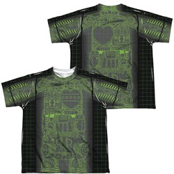 Image of Astro Boy X Ray Sublimation Kids Shirt Front/Back Print
