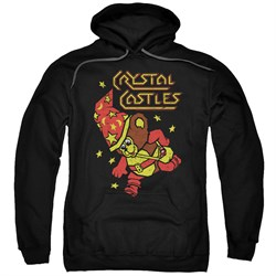 Image of Atari Hoodie Crystal Bear Black Sweatshirt Hoody