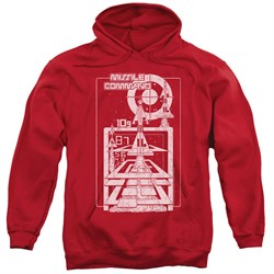 Image of Atari Hoodie Lift Off Red Sweatshirt Hoody
