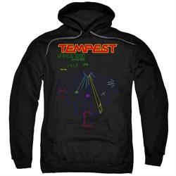 Image of Atari Hoodie Tempest Screen Black Sweatshirt Hoody
