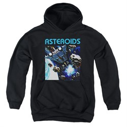 Image of Atari Kids Hoodie 2600 Asteroids Black Youth Hoody