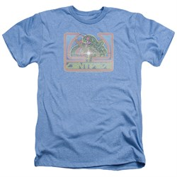 Image of Atari Shirt Classic Centipede Heather Light Blue T-Shirt