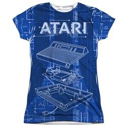 Image of Atari Shirt Inside Out Sublimation Juniors T-Shirt