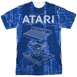 Image of Atari Shirt Inside Out Sublimation T-Shirt