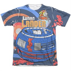 Image of Atari Shirt Lunar Landing Poly/Cotton Sublimation T-Shirt