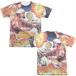 Image of Atari Shirt Missile Command Poly/Cotton Sublimation T-Shirt Front/Back Print
