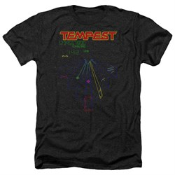 Image of Atari Shirt Tempest Screen Heather Black T-Shirt