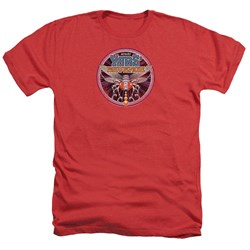 Image of Atari Shirt Yars Revenge Patch Heather Red T-Shirt