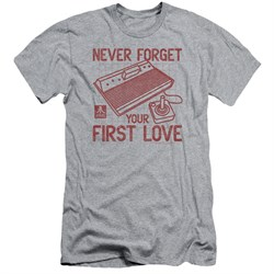 Image of Atari Slim Fit Shirt First Love Athletic Heather T-Shirt