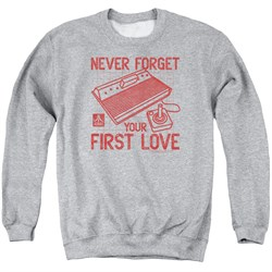 Image of Atari Sweatshirt First Love Adult Athletic Heather Sweat Shirt