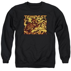 Image of Atari Sweatshirt Tempest Demon Reach Adult Black Sweat Shirt