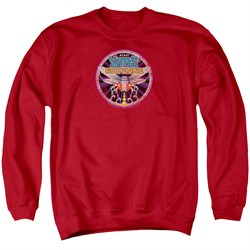 Image of Atari Sweatshirt Yars Revenge Patch Adult Red Sweat Shirt