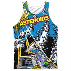 Atari Tank Top Asteroids All Over Sublimation Tanktop