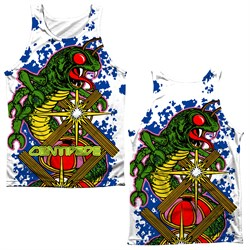 Image of Atari Tank Top Centipede Insect Attack Sublimation Tanktop Front/Back Print