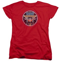 Image of Atari Womens Shirt Yars Revenge Patch Red T-Shirt