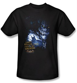 Image of Batman T-Shirt - Arkham Killer Croc Adult Black