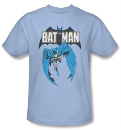 Image of Batman Kids T-Shirt - Batman #241 Cover Youth Light Blue Tee