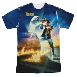 Image of Back To The Future Movie Poster Sublimation Shirt
