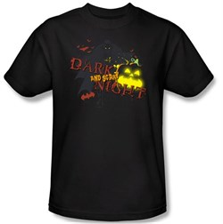 Image of Batman Kids T-Shirt - Dark And Scary Night Youth Black Tee