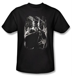 Batman T-Shirt - Detective Adult Black Tee