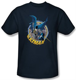 Image of Batman Kids T-Shirt - In The Crosshairs Youth Navy Tee