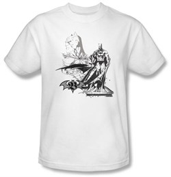Image of Batman Kids T-Shirt - Overseer Youth White Tee