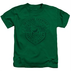 Image of Beetle Bailey Kids Shirt Official Badge Kelly Green T-Shirt