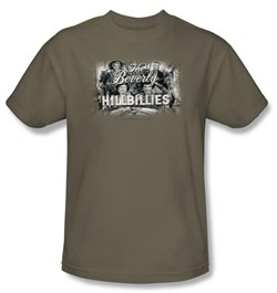 Image of Beverly Hillbillies Kids T-shirt Logo Youth Safari Green Tee