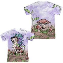 Betty Boop Fairy Sublimation Shirt Front/Back Print