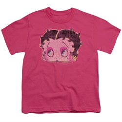 Betty Boop Kids Shirt Pop Art Boop Hot Pink T-Shirt