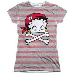Betty Boop Rrrr Boop Sublimation Juniors Shirt