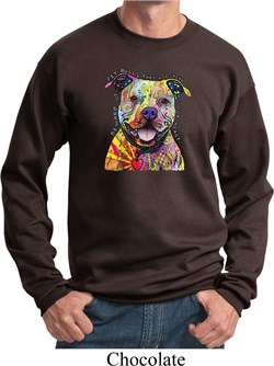 Image of Beware of Pit Bulls They Will Steal Your Heart Sweatshirt
