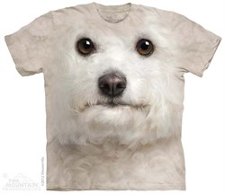 Image of Bichon Frise Shirt Tie Dye Adult T-Shirt Tee