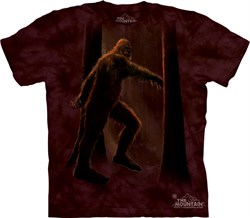 Image of Bigfoot Shirt Tie Dye Sasquatch Yeti Forest T-shirt Adult Tee