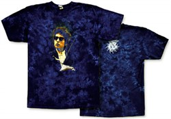 Image of Bob Dylan T-shirt - Surreal Tie Dye Tee Shirt