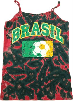Image of Brasil Ladies Tie Dye Camisole Tank Top