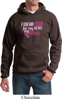 Image of Breast Cancer Awareness Pink for My Hero Hoodie