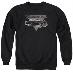 Image of Buick Sweatshirt 1952 Roadmaster Adult Black Sweat Shirt