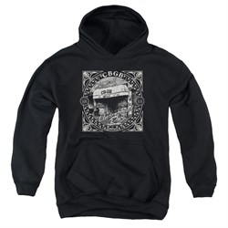 Image of CBGB Youth Hoodie Front Door Black Kids Hoody