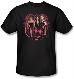 Image of Charmed Kids Shirt Charmed Girls Youth Black T-shirt