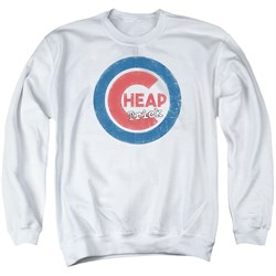 Image of Cheap Trick Sweatshirt Cub 2 Adult White Sweat Shirt