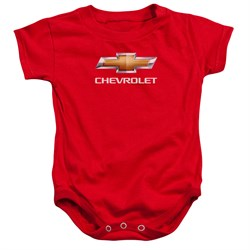 Image of Chevy Baby Romper Bow Tie Red Infant Babies Creeper